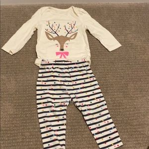 Gap baby matching outfit